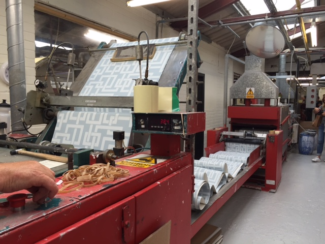 Farrow & Ball Wallpaper Factory