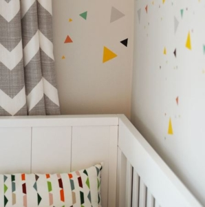 First Look Bright & Colourful Nursery Reveal
