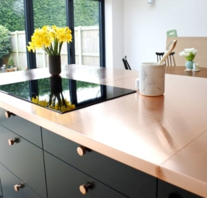 Reveal The Copper Worktop