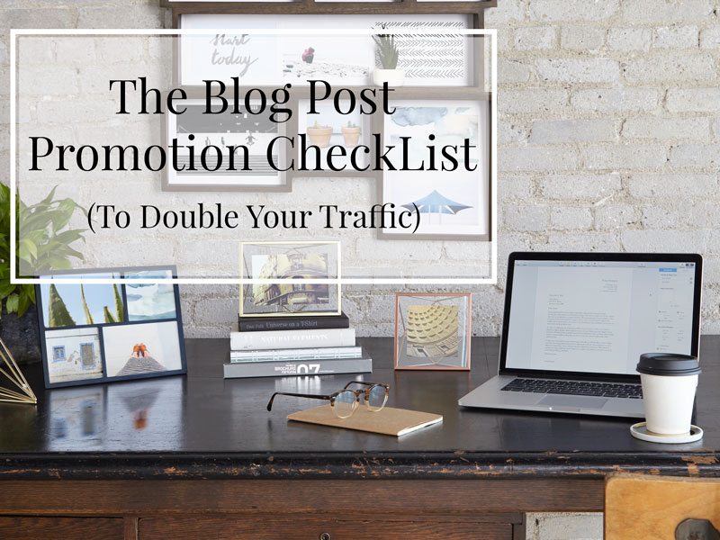 Blog post promotion featured