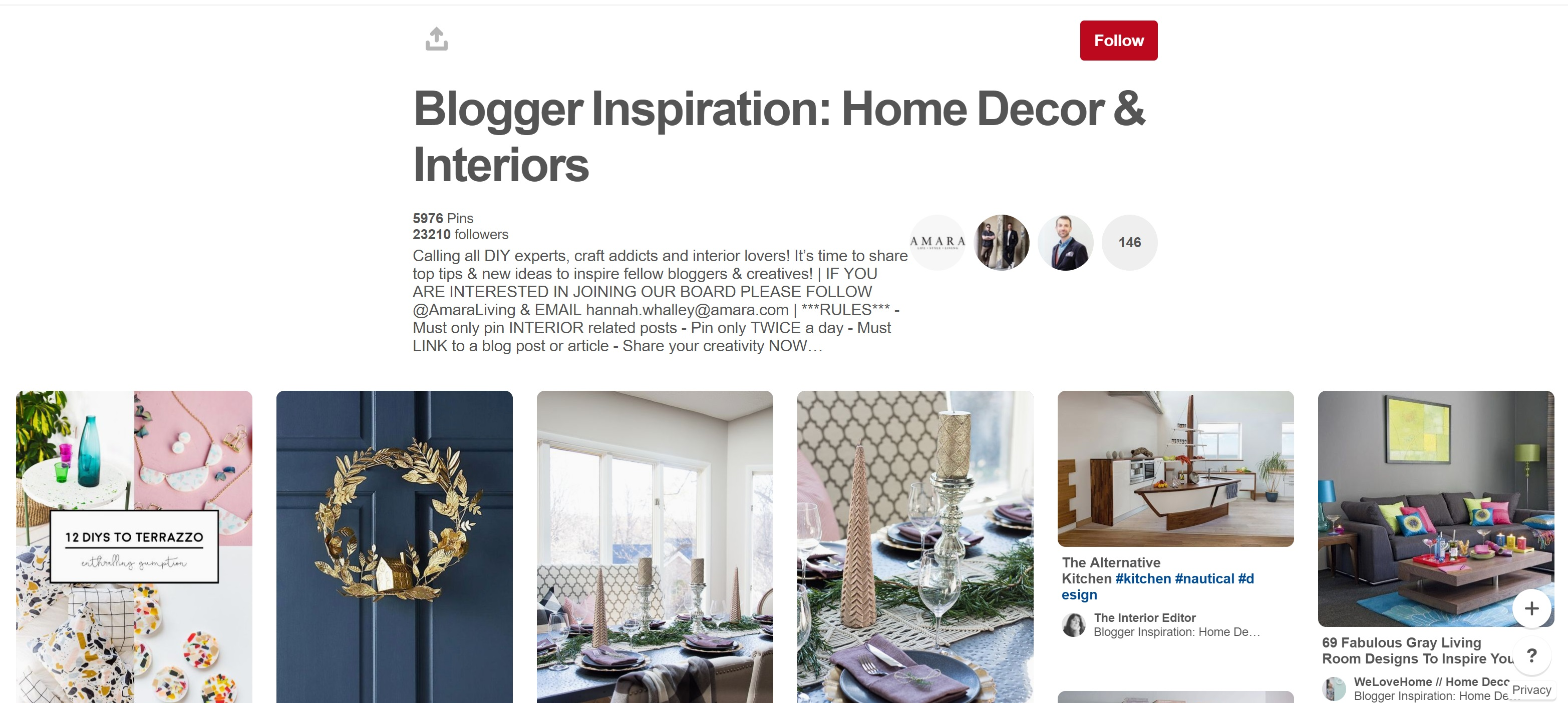 Social Media for Bloggers: The Complete Guide For Interior Bloggers