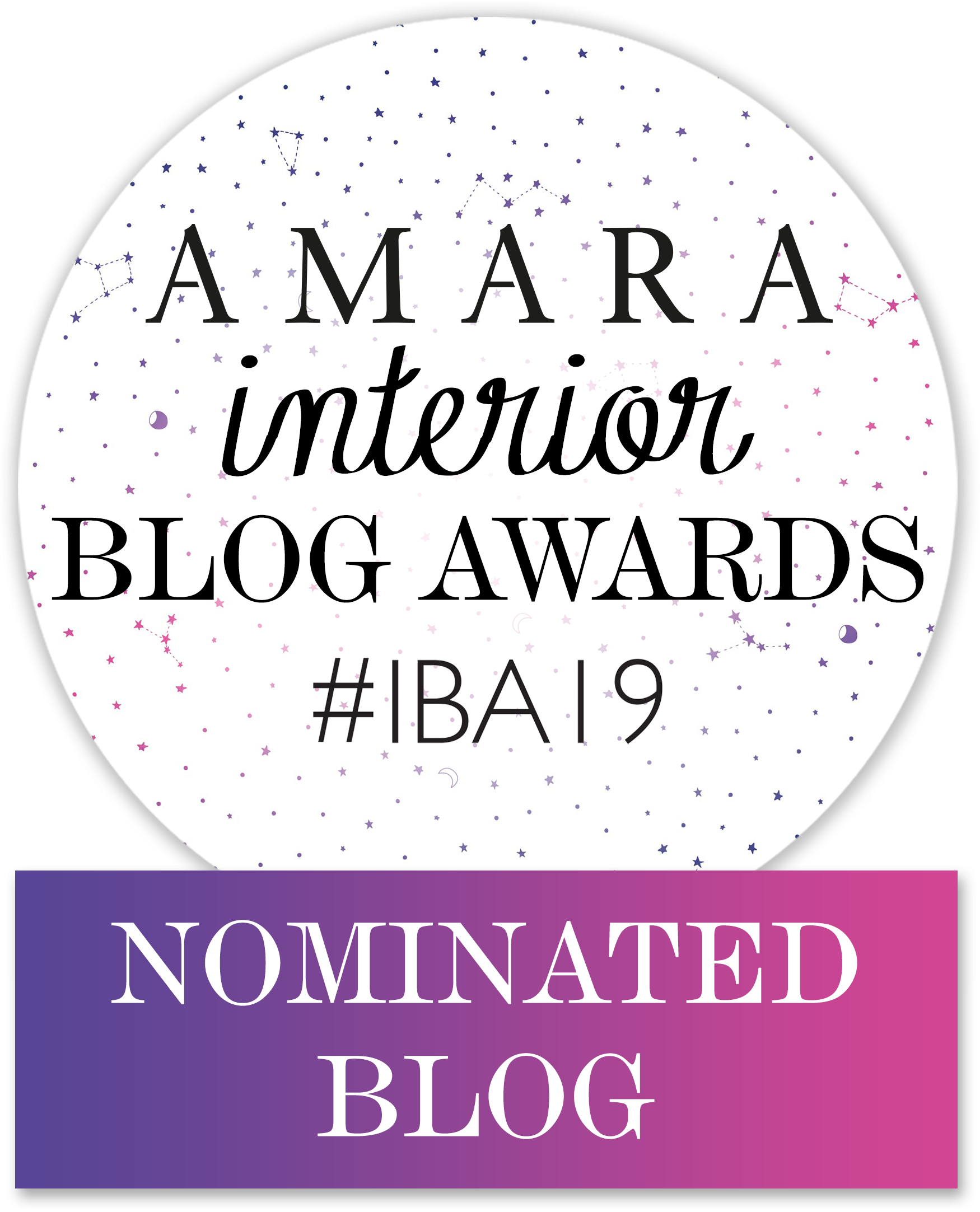 Amara Interior Blog Awards Nominated Blog