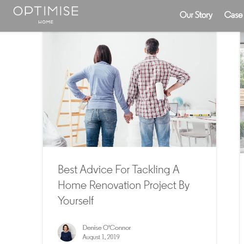 optimse home blog